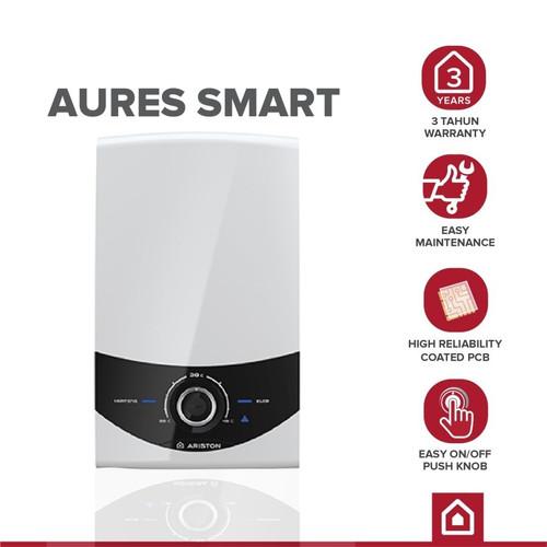 Foto Produk Ariston - Aures Smart - Electric Instant Water Heater SM C24E dari YALE Official Store