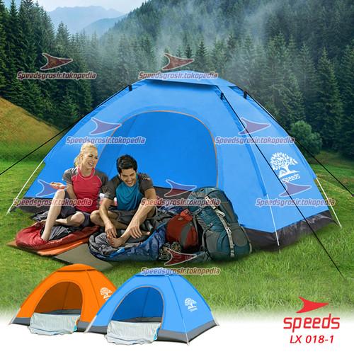 Foto Produk Tenda Camping Buka Otomatis original speeds 2 Orang tipe 001 - Biru Otomatis dari Speeds Official Store