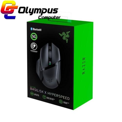 Foto Produk Baru Razer Basilisk X Hyperspeed - Gaming Mouse Wireless dari OLYMPUS COMPUTER