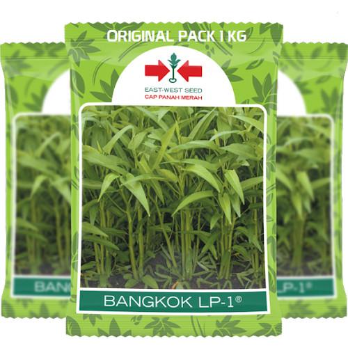 Foto Produk Benih Bibit Kangkung Bangkok LP1 Panah Merah Original Pack 1 Kg dari Genuine MB Stuff