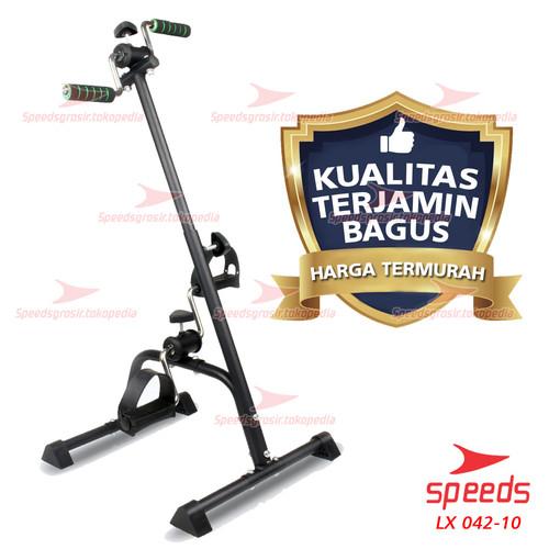 Foto Produk Sepeda Statis SPEEDS Pedal Exerciser Sepeda Terapi Untuk Stroke 042-10 - Hitam dari Speeds Official Store