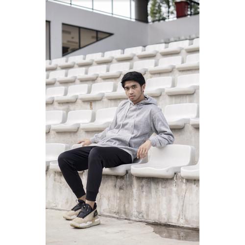 Foto Produk Hoodie Pullover Series (Abu Muda) - L dari Arsenio Apparel Store