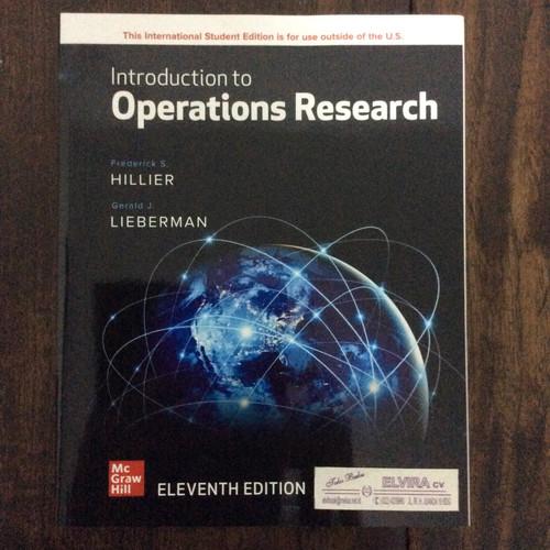 Foto Produk Introduction to Operation Research 11ed by Hllier dari Toko Buku Elvira