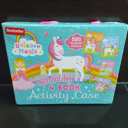 Foto Produk Buku anak import Sparkly Unicorn Activity Case dari Booktubers id