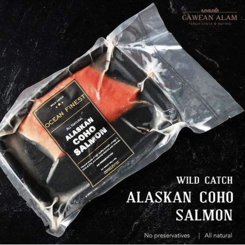 Foto Produk Wild-Caught Alaskan COHO SALMON - Ikan SALMON COHO (200gr) - BAGIAN TAIL dari Gawean Alam