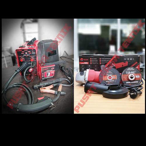 Foto Produk Paket Las Mig Mesin Las Mig 120T + Gerinda Redbo dari PUSAT SERBA TEKNIK