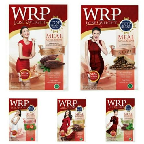 Foto Produk WRP LOSE WEIGHT Meal Replacement 6 sachets - Moka Teh Hijau dari ezpay