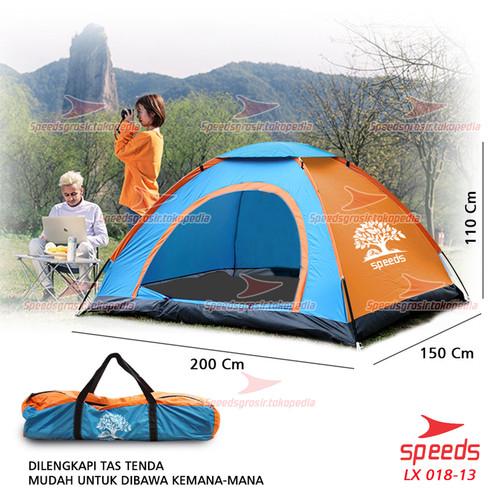 Foto Produk Tenda Camping Buka Otomatis original speeds 2 Orang 018-1 BIRU - Biru Manual dari Speeds Official Store