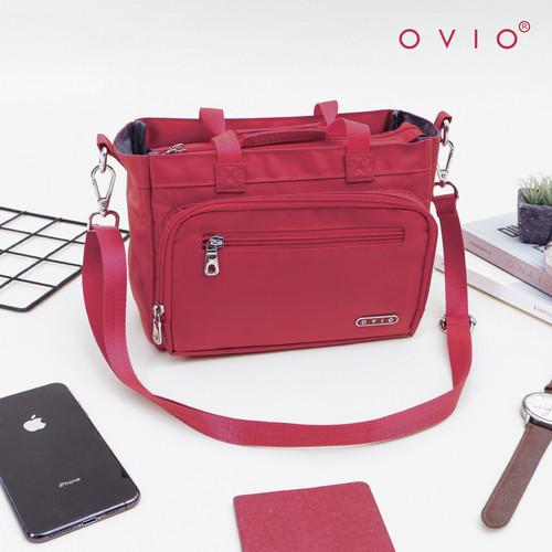 Foto Produk OVIO 3821 Nylon - Tas Multifungsi / Bag Organizer - Red dari OVIO Official