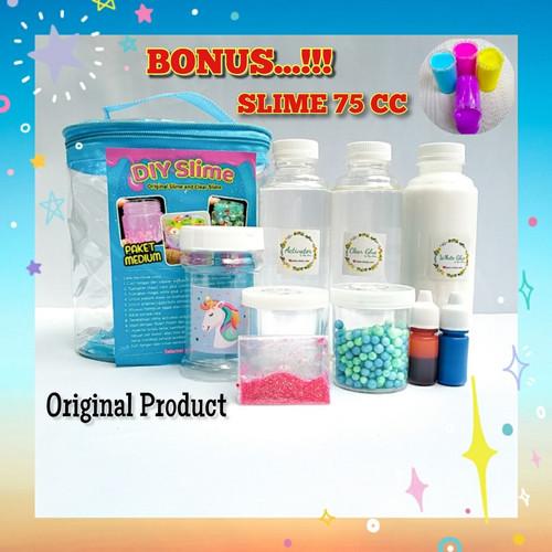 Foto Produk Slime kit/DIY Bahan Slime dari www-bajualya-com