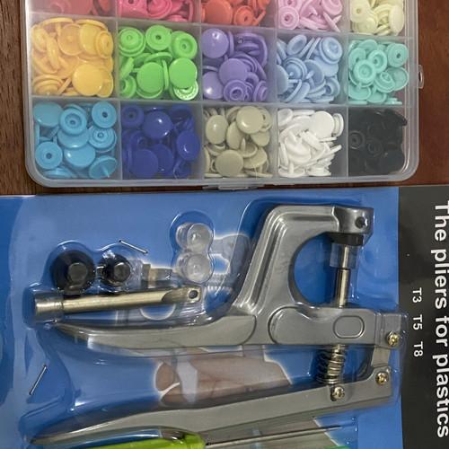Foto Produk Alat Pasang Kancing Jepret Plastik/Plastic Snap Button Pilers - Kancing Snap dari WXYZ Leather Studio