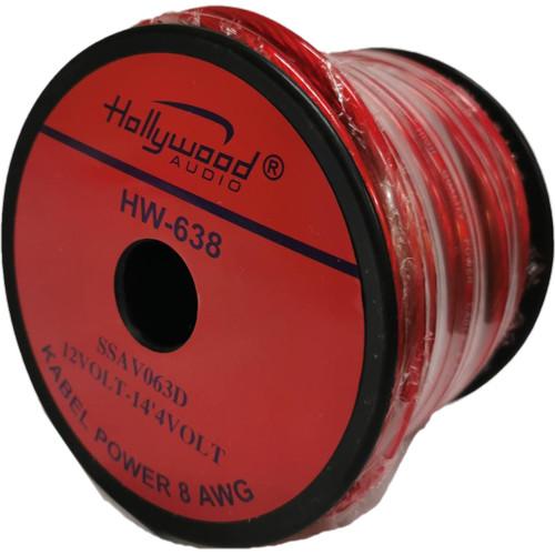 Foto Produk KABEL POWER STROM 8 AWG HOLLYWOOD HW 638 RED dari Sukses Indo Variasi