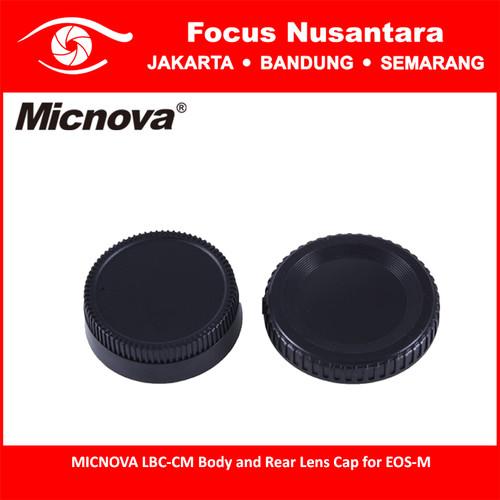 Foto Produk MICNOVA LBC-CM Body and Rear Lens Cap for EOS-M dari Focus Nusantara