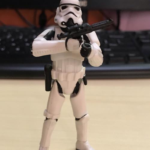 Foto Produk Action Figure Star Wars Storm Trooper loose full Artikulasi dari Radabab