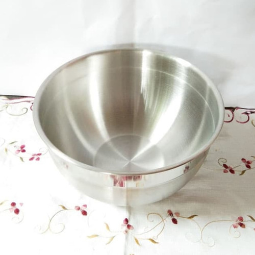 Foto Produk Supra Stainless Mixing Bowl 29 cm. Baskom Mangkok Adonan Kue dari Vist Kitchen Store