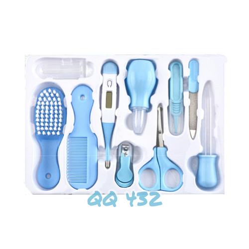 Foto Produk Baby care kit set 10 in 1 Newborn nursery health kado lahiran gift set - Biru dari QQ 432
