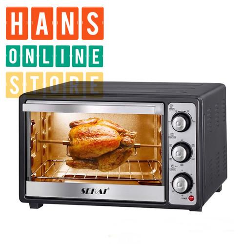 Foto Produk SEKAI OV-260 Oven Listrik 26L - Hitam dari Han's Online Store