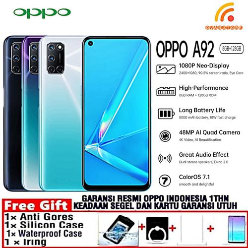 Foto Produk OPPO A92 2020 Ram 8/128GB Garansi Resmi OPPO INDONESIA - Hitam dari OVANST0RE