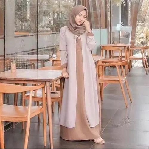 Foto Produk BAJU GAMIS WANITA TERMURAH DRESS MUSLIM REMAJA TERBARU dari diesa store