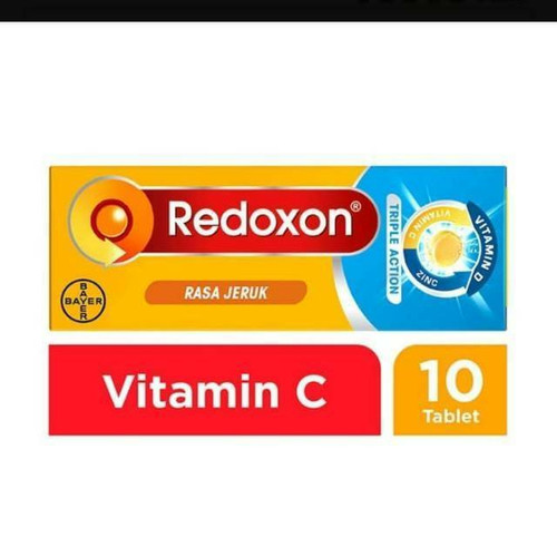 Foto Produk redoxone triple action 10 tablet / redoxon triple action 10 dari WTCSTORE