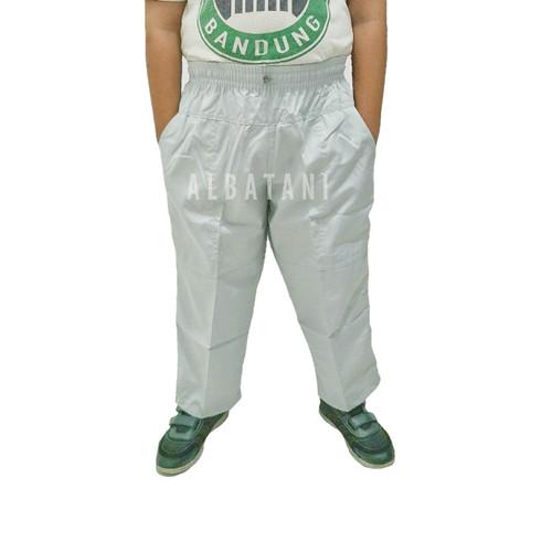 Foto Produk Celana sirwal pangsi polos anak size M L XL - L dari Albatani Muslim Store