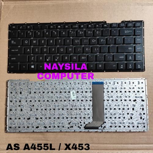 Foto Produk Keyboard Asus X453 X453M X452 A455 A455L X451C K455 X403M W419L F401 dari Naysila computer