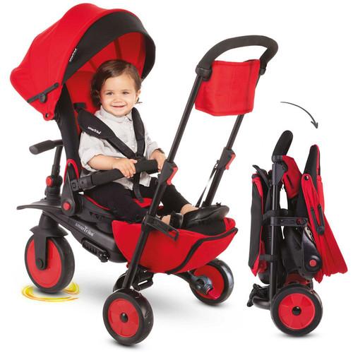 Foto Produk SmarTrike STR7 8 in 1 stroller + tricycle - Merah dari Babiesetc_jakarta