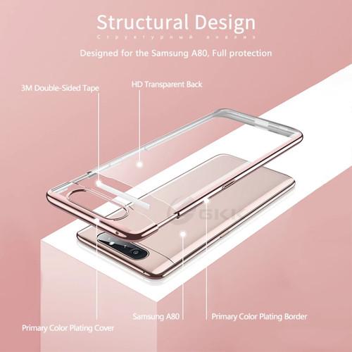 Foto Produk Case Clear Samsung Galaxy A80 2019 New Arrival Plating Luxury dari BENNY ACC