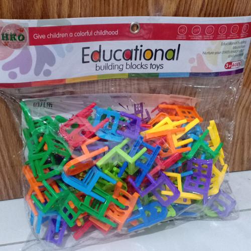 Foto Produk mainan educational building blocks toys/mainan edukasi block dari HM (hamanda) toys
