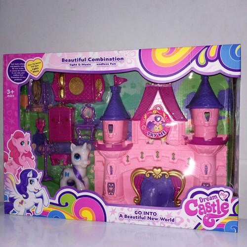 Foto Produk mainan anak perempuan / istana princess/beauty castle dari OB (ORANGE BLUE) toys