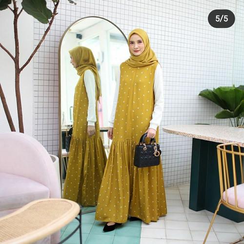Jual Gamis Casual Dress Muslim Sidney Aksara Mustard Sz L By Deenay L Kota Bekasi Jasmine2012 Tokopedia