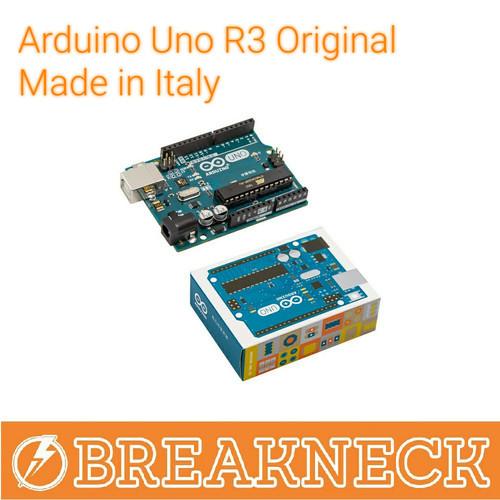 Foto Produk Arduino UNO R3 Original Made in Italy dari Breakneck