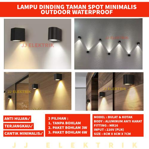 Jual Lampu Dinding Minimalis Taman Pilar Outdoor Waterproof Jj90 Jj92 Tanpa Bohlam Kab Tangerang Jjelektrik Tokopedia