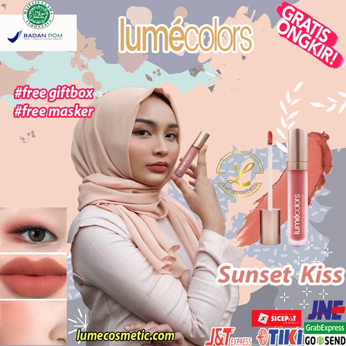 Foto Produk LUMECOLORS VELVET LIP & CHEEK MOUSSE - SUNSET KISS dari lumecolorsindonesia