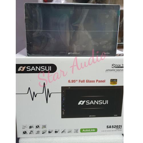 Foto Produk TV double din Sansui Full HD 6.95inch - Headunit dari Star.Audio