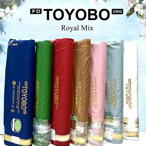 Foto Produk Multi kain katun cotton TOYOBO Royal Mix RM exclusive import murah - RM 20 Khaki Tua dari multi kain