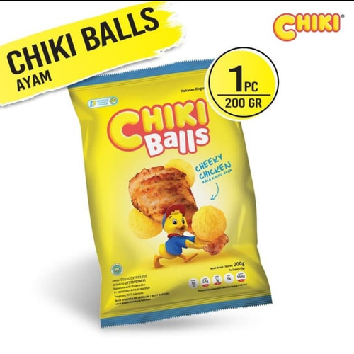 Foto Produk Chiki Balls 200gr Packing Original - Rasa Ayam dari RameIn-Aja