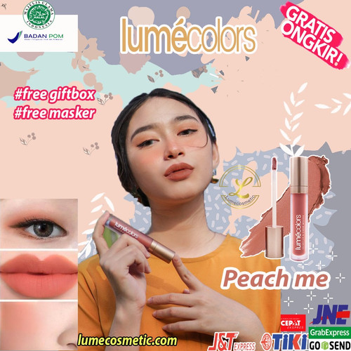 Foto Produk LUMECOLORS VELVET LIP & CHEEK MOUSSE - PEACH ME dari lumecolorsindonesia
