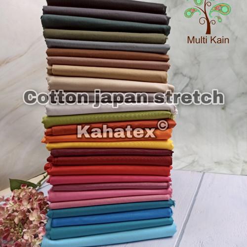 Foto Produk Multi kain katun cotton stretch spandex stret kahatex murah eceran - an 246 abu muda dari multi kain