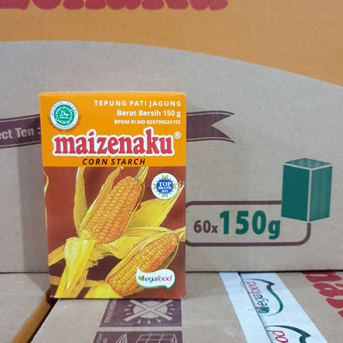 Foto Produk [satuan] Tepung Maizena Corn Starch MAIZENAKU 150 gram / 150gr dari Aimee Bag & Plush Toys