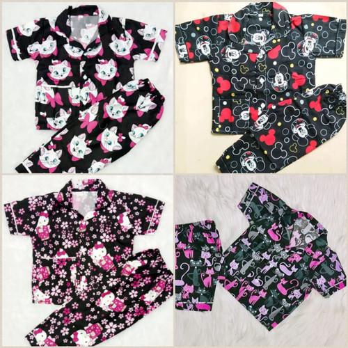 Foto Produk Piyama Anak Perempuan Usia 5 - 9 Th - 5-6 tahun dari Arruma Store