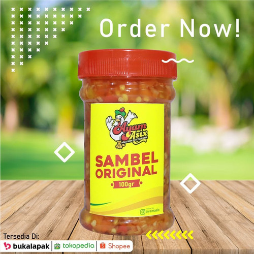 Foto Produk Sambal Original Ayam Asix dari ayamasixofficial