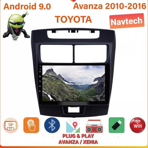 Foto Produk Head unit android 9 inch 2GB toyota avanza / Head unit avanza / xenia - 1GB 16GB dari Navtech
