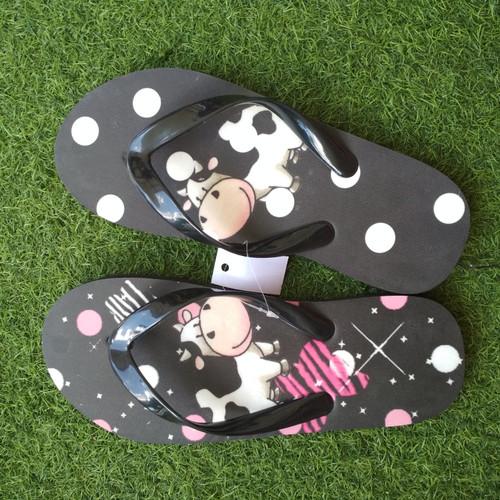 Foto Produk sandal wanita gambar sapi size 43 dari casaloma