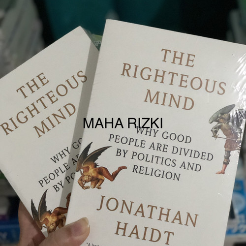 Foto Produk The Righteous Mind: Why Good People Are Divided by Politics dari Maha Rizki