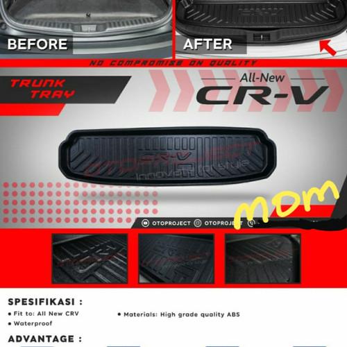Foto Produk Karpet Maxmat Trunk Tray Bagasi Otoproject All New Crv Turbo dari Mega Oriental Motor