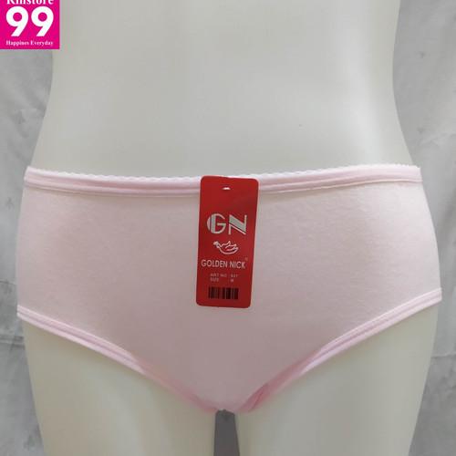 Foto Produk Celana Dalam Wanita Golden Nick Warna Terang - M dari Rinstore99