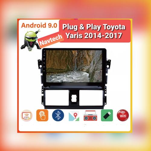 Foto Produk Head unit android 10 inch 2GB oem Toyota yaris/vios 14-17 - 2GB 32GB dari Navtech