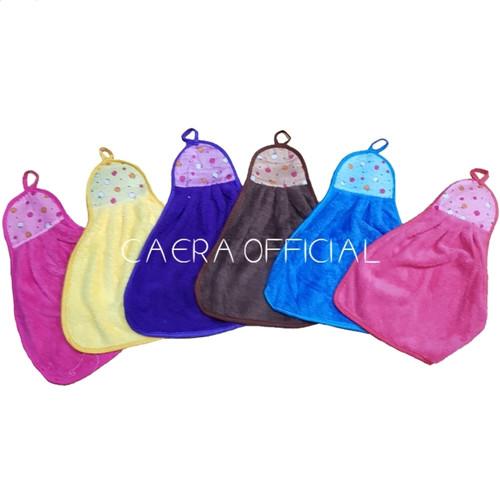 Foto Produk Serbet Gantung Microfiber Warna Pelangi / Kitchen Towel dari CaeraOfficial