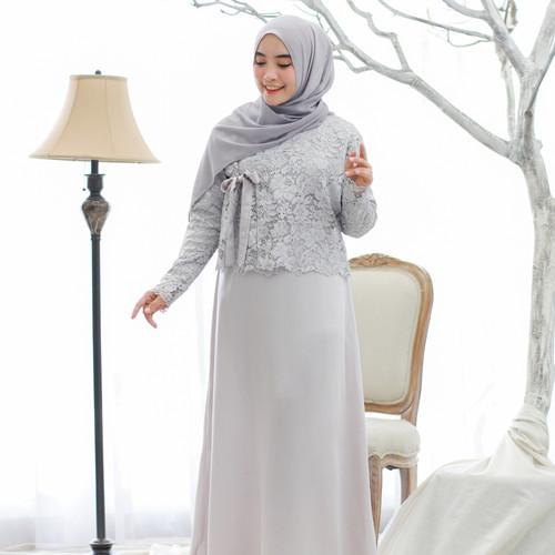 Foto Produk Hanbok Ara Maxidress + Outer Brukat / Brocade Frozen Misty dari sheenofficial